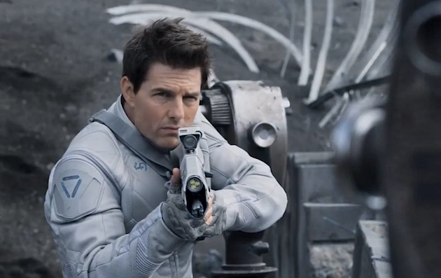 oblivion trailer with tom cruise