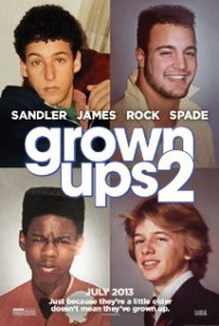 Grown Ups 2 with miserable Taylor Lautner
