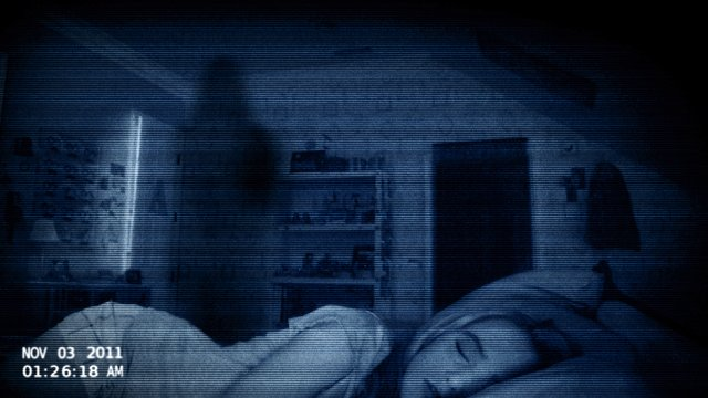Watch behind you, it might be Paranormal Activity