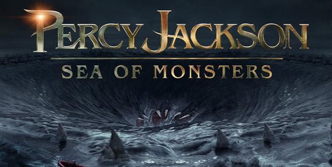 One of posters of Percy Jackson: Sea of Monsters movie