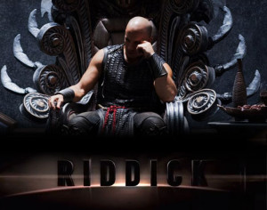 Riddick 2013 awesome trailer / Riddick in search for the late supper