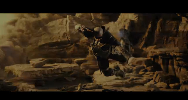 Riddick 2013 awesome trailer