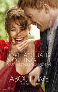 Poster for a About Time movie