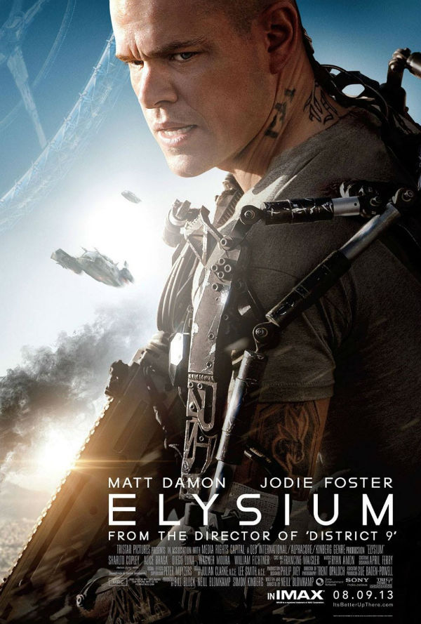 And of course poster of the Elysium 2013