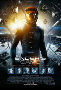 Poster number one for the Ender's Game