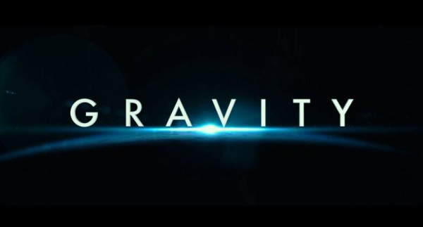 Poster for the Gravity 2013 movie