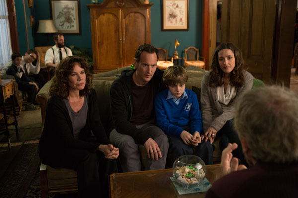 Very good family in a scary place in Insidious Chapter 2