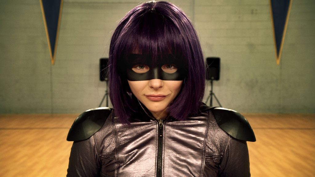 Hit-Girl as one of the awesomest heroes of Kick-Ass 2 movie