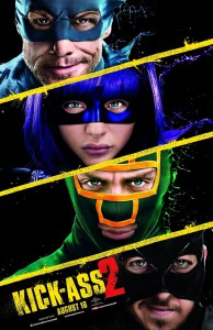 All main heroes of the Kick-Ass 2 movie