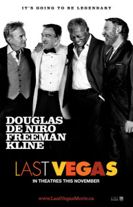 This is a new poster of the Last Vegas