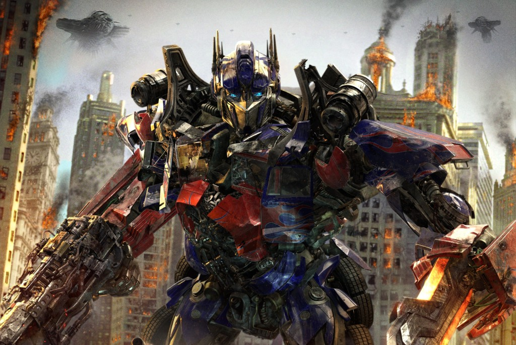 The Transformers 3 movie by Michael Bay