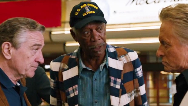 Morgan Freeman - last role in Last Vegas?