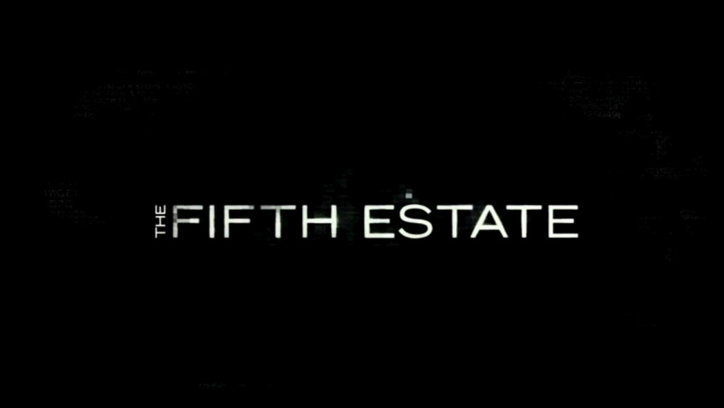 Original poster of the Fifth Estate