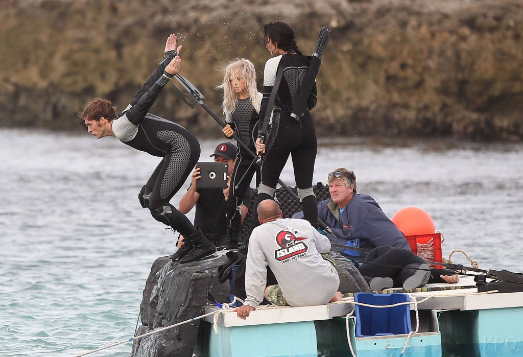 Footage photo of the The Hunger Games: Catching Fire movie