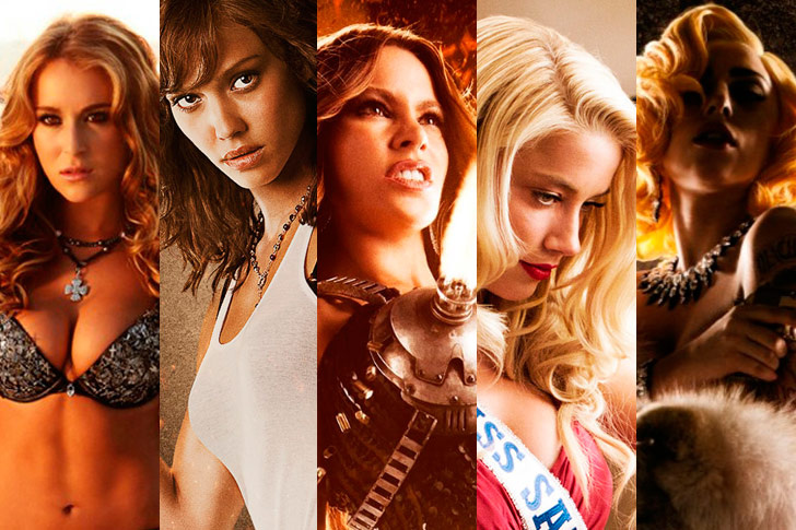 Girls in Machete Kills movie