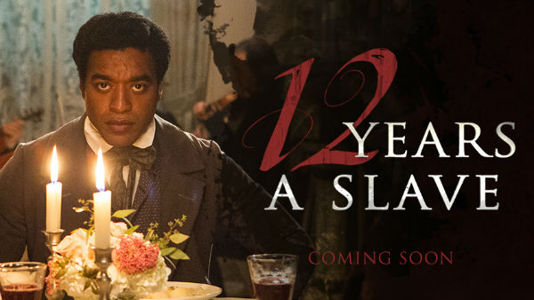 Usual poster of the 12 Years a Slave 2013 movie