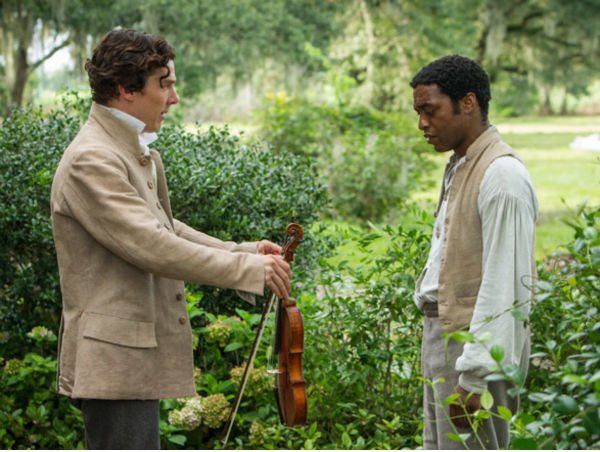 Cumberbatch giving lessons to a slave