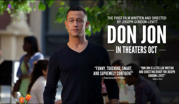 One of the obvious posters of Don Jon 2013