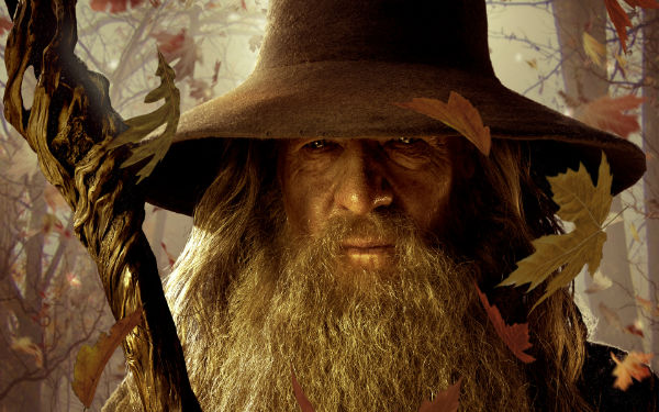 Gandalf's wonders in The Hobbit: The Desolation of Smaug
