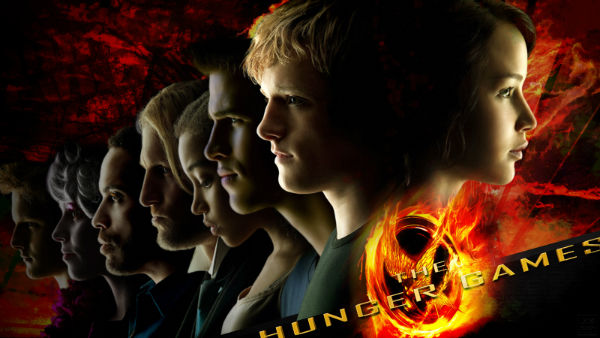 It's a poster for a first part of Hunger Games