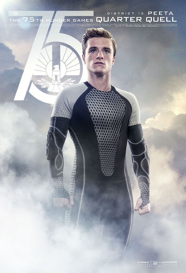 75th annual Hunger Games poster