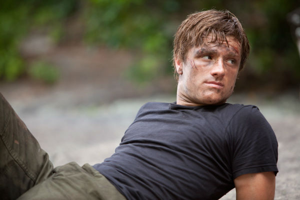 Josh Hutcherson in the Hunger Games: Catching Fire