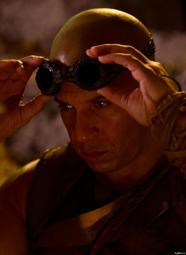 Riddick want to wear his goggles