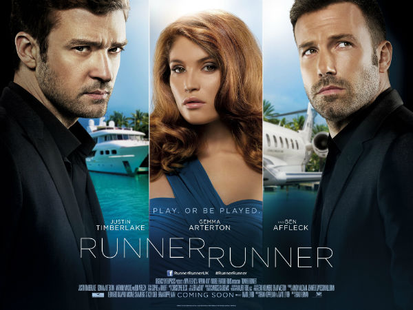 Most popular poster to Runner Runner 2013