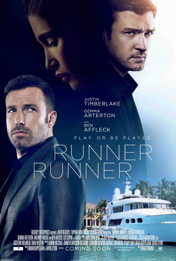 And of course HD poster of Runner Runner 2013