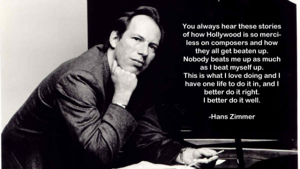 Hans Zimmer is a great composer