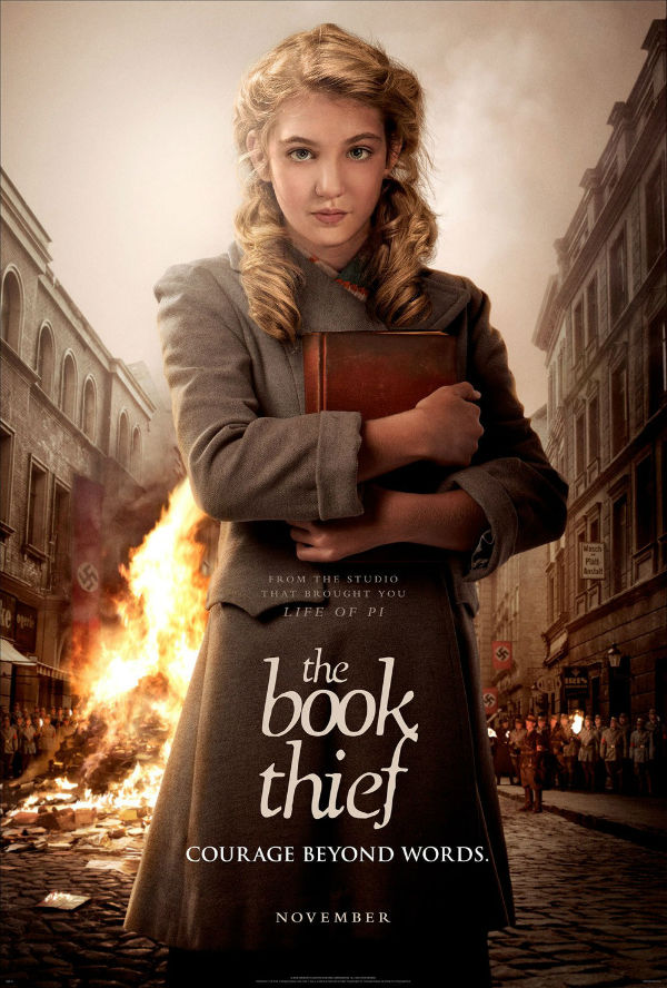 Beautiful poster of the Book Thief 2013 movie