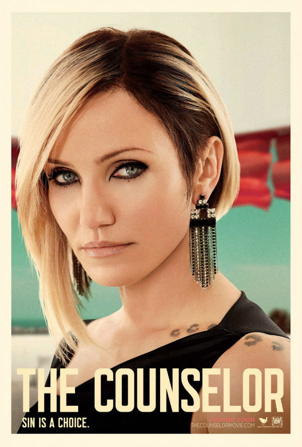 Fabulous Cameron Diaz poster for Counselor 2013 movie