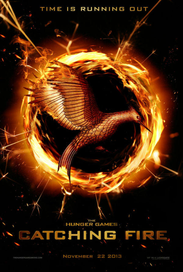 Great new poster of Hunger Games: Catching Fire 2013 movie