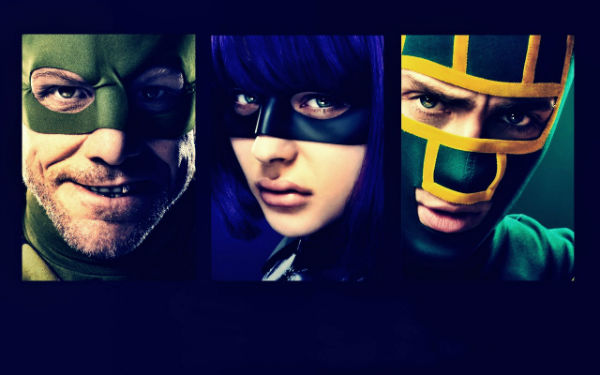 Main good heroes in Kick-Ass 2 2013