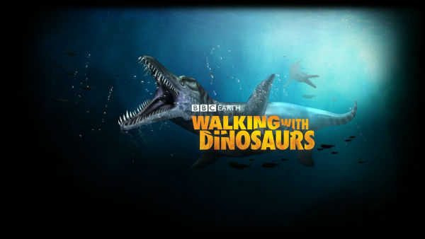 One of the posters of Walking with Dinosaurs 3D