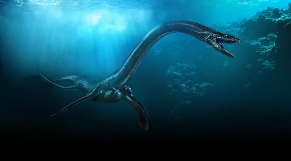 Can you imagine that kind of beast when you're walking with dinosaurs?