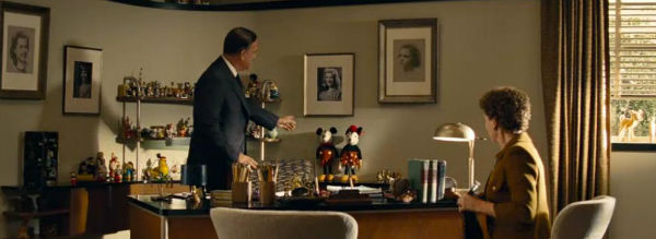 Mickey Mouse figure in Saving Mr. Banks movie