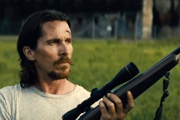 Christian Bale with a gun looks rather more brutal