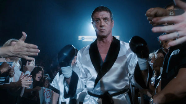 Stallone is really ready to fight