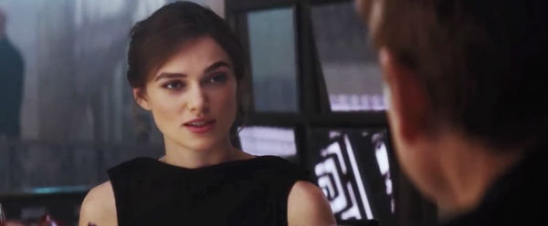 Keira Knightley might want to tell something important