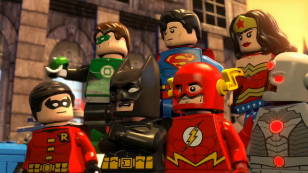 All of the Lego Movie heroes gathered in one frame